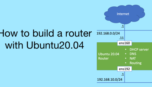 How to build a router with Ubuntu20.04