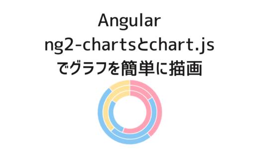 [Angular] ng2-chartsとchart.jsでグラフを描画する
